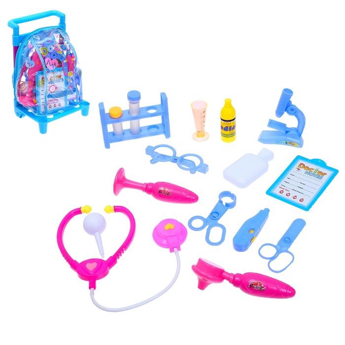 Набор доктора в чемодане «Скорая помощь»