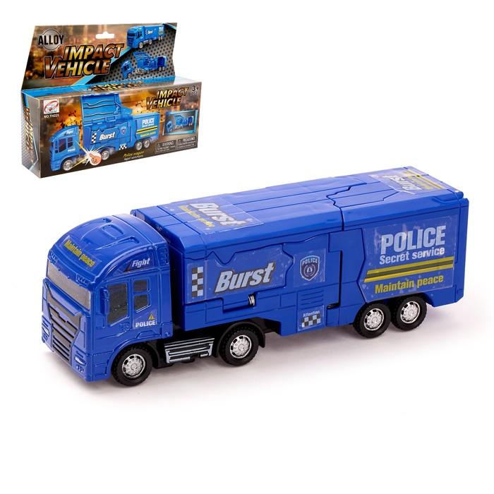 Грузовик-парковка «Полиция», трансформация