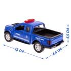 Парковка «Полицейский участок» с металлической машинкой и рацией, световые и звуковые эффекты - фото 105644301