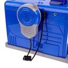 Парковка «Полицейский участок» с металлической машинкой и рацией, световые и звуковые эффекты - фото 105644303