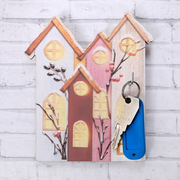Ключница «Дом», 12 х 14 см