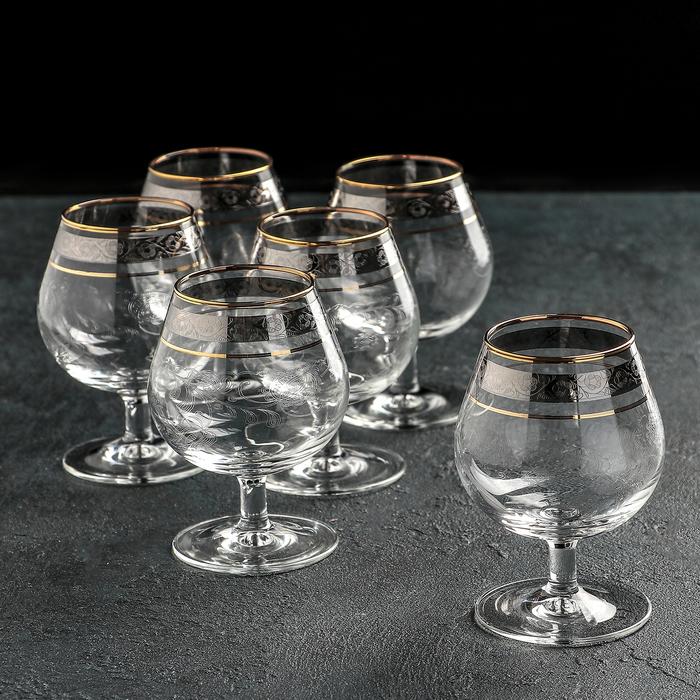 """Набор бокалов для бренди 250 мл """"Эдем. Нежность"""", 6 шт"""