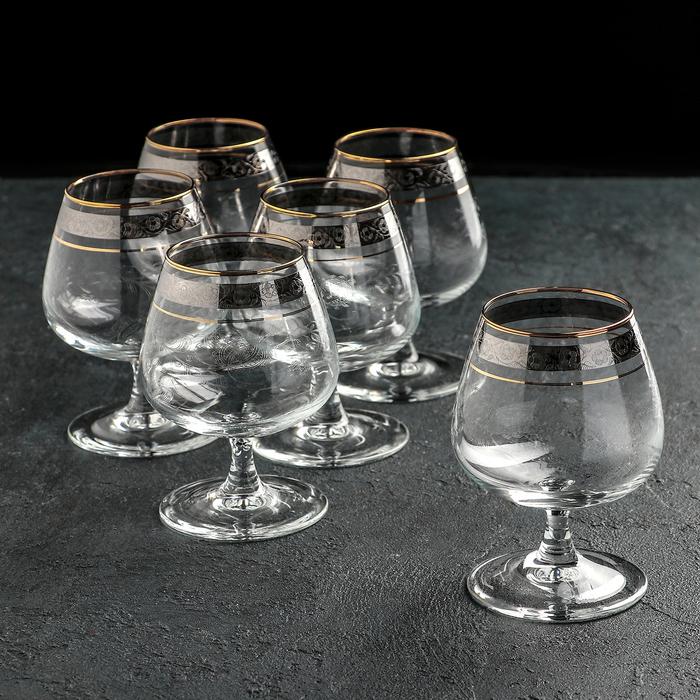 """Набор бокалов для бренди 410 мл """"Эдем. Нежность"""", 6 шт"""