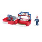 """Игровой набор """"Пожарная станция"""", с аксессуарами и фигуркой пожарного"""