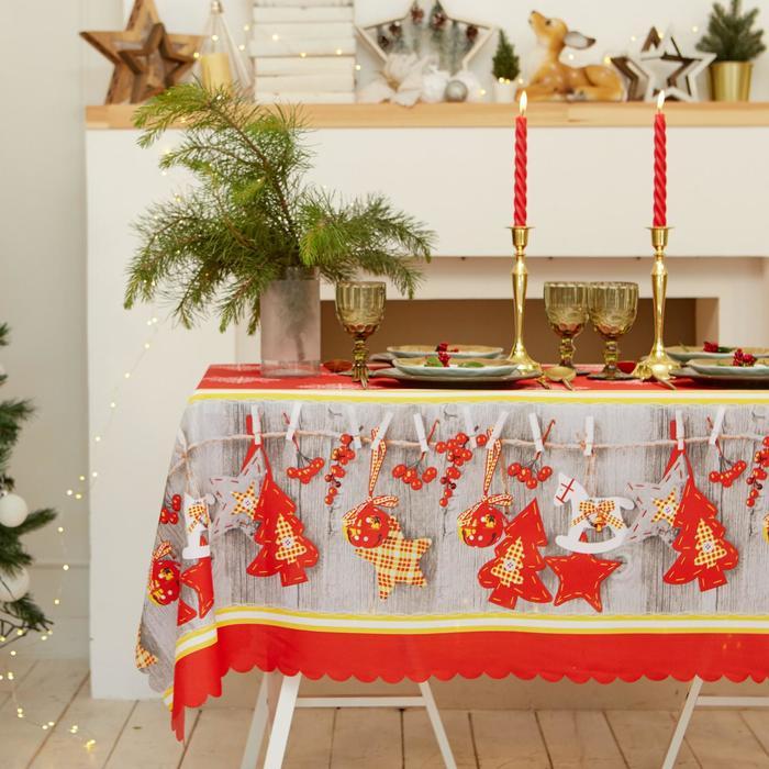 "Tablecloth Share ""at Home"" 110×145 cm, 100% p/e"