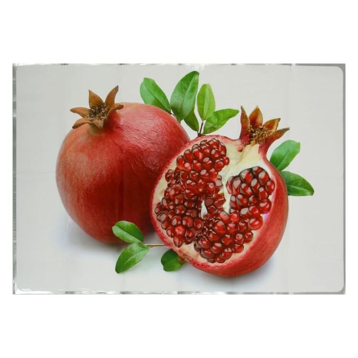 "Наклейка на кафельную плитку ""Гранат"" 60х90 см"
