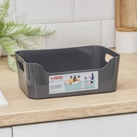 Корзина для хранения econova Scandi, 3,1 л, 24×17×9 см, цвет МИКС