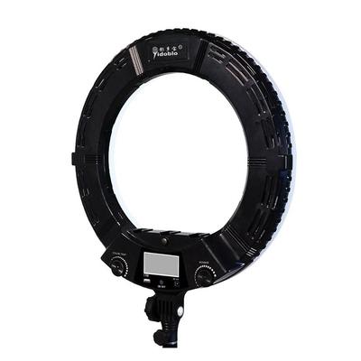 Кольцевая лампа OKIRA LED RING AX 480 E, 48 Вт, 240 светодиодов, d=45 см, дисплей, черная