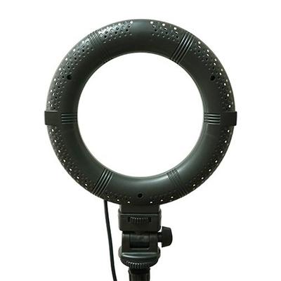 Кольцевая лампа OKIRA LED RING DAR 72, 28 Вт, 128 светодиодов, d=25 см, черная
