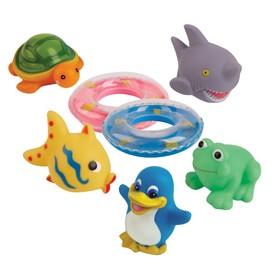 Набор игрушек для ванной «Весёлое купание», 3 шт.