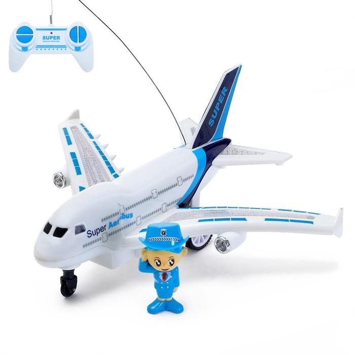 Самолёт радиоуправляемый «Авиалиния», работает от батареек