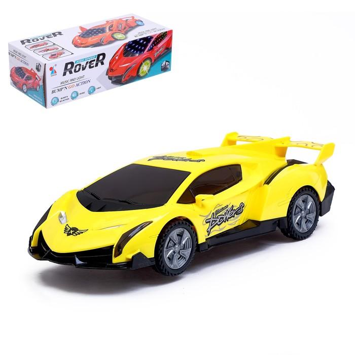 Машина «Ровер», дрифт, вращение на 360 градусов, световые и звуковые эффекты