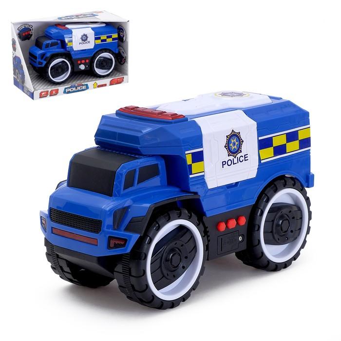 Машина инерционная «Полиция», световые и звуковые эффекты