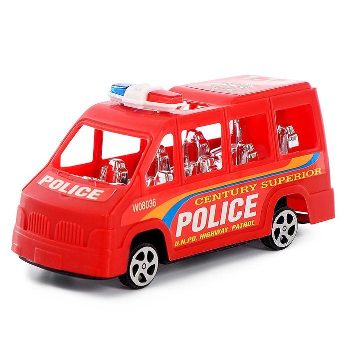 Машина инерционная «Полиция», МИКС