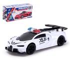 Машина «Полиция», световые и звуковые эффекты, работает от батареек, МИКС - фото 105649138