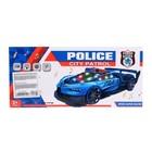 Машина «Полиция», световые и звуковые эффекты, работает от батареек, МИКС - фото 105649142