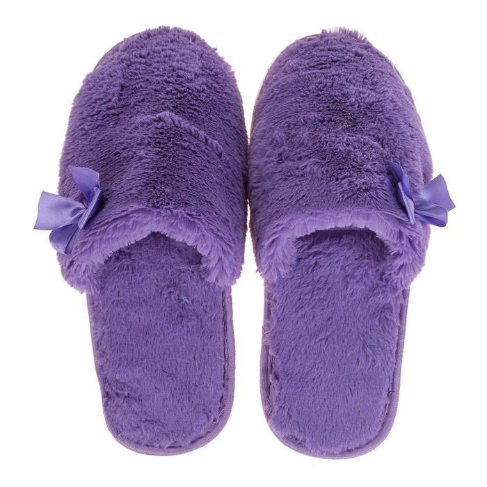Тапочки женские TAP MODA арт. 89, фиолетовый, размер 36/37