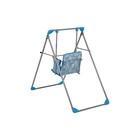 Качели детские напольные «Чарли», цвет голубой - фото 105452813