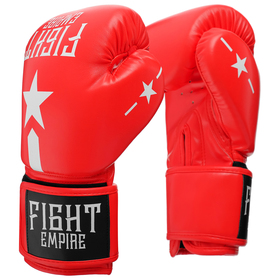 FIGHT EMPIRE Boxing Gloves, 10 oz, red