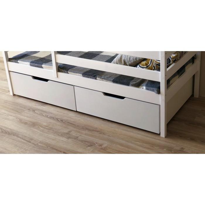 Ящики выкатные, 2 шт, к кроватке-домику 140х80 см, цвет серый
