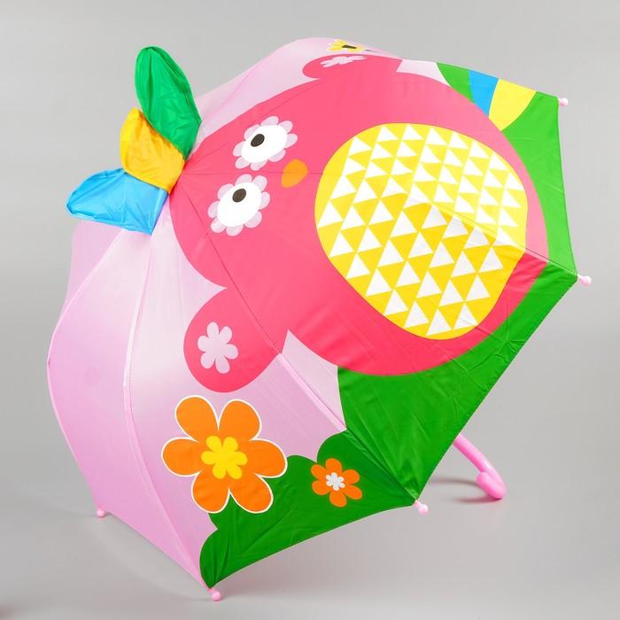 Зонт детский фигурный «Птичка» 70×70×60 см
