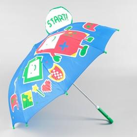 Зонт детский фигурный «Игры» 70×70×60 см