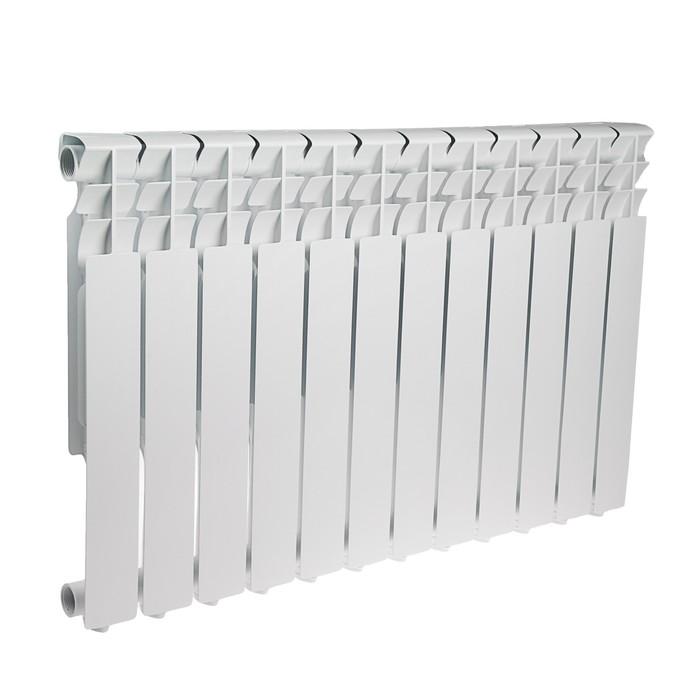 Радиатор алюминиевый Tropic, 500 x 80 мм, 12 секций