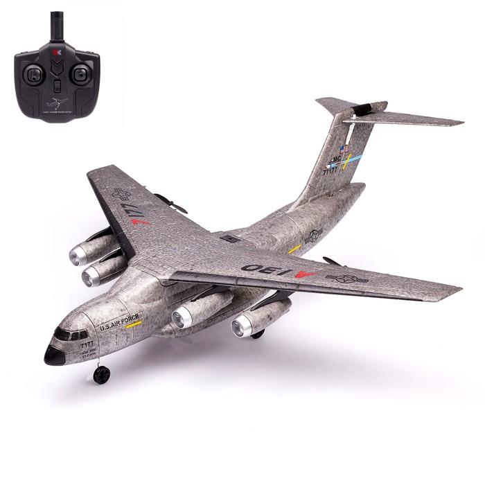 Самолёт радиоуправляемый «Транспортный», гироскоп, стабилизация движения