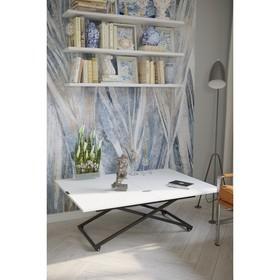 Стол трансформируемый «Андрэ Loft», 850 (1102) × 550 (850) × 560 (704) мм, цвет белый