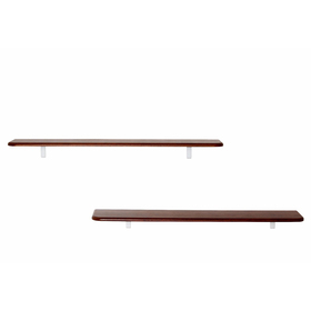 Комплект полок «Сочи 1020» (2 шт), 1020 × 185 × 16 мм, цвет орех
