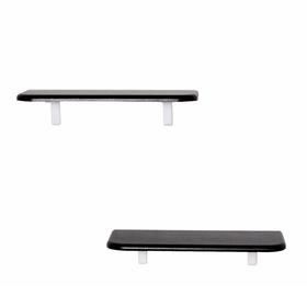 Комплект полок «Сочи 450» (2 шт), 450 × 185 × 16 мм, цвет венге