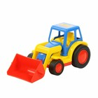 Трактор — погрузчик «Базик», цвета МИКС - фото 105649707