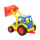 Трактор — погрузчик «Базик», цвета МИКС - фото 105649708