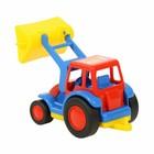 Трактор — погрузчик «Базик», цвета МИКС - фото 105649713