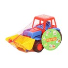 Трактор — погрузчик «Базик», цвета МИКС - фото 105649716