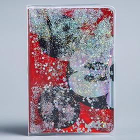 Блокнот в обложке-шейкер, Микки Маус, А6, 32 листа