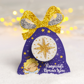 "Christmas candle ""sweet angel"", 5 x 15 cm"