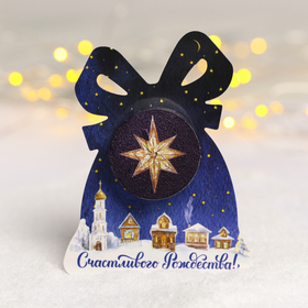 "Christmas candle ""Magic moments"", 5 x 15 cm"