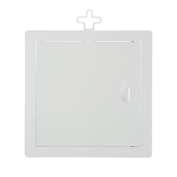 Лючок ревизионный TUNDRA, 150 х 150 мм, пластик