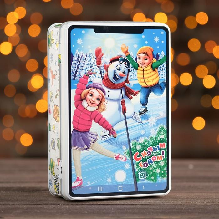 """Подарочная коробка """"Смартфон"""", 20 х 13 х 5,2 см"""
