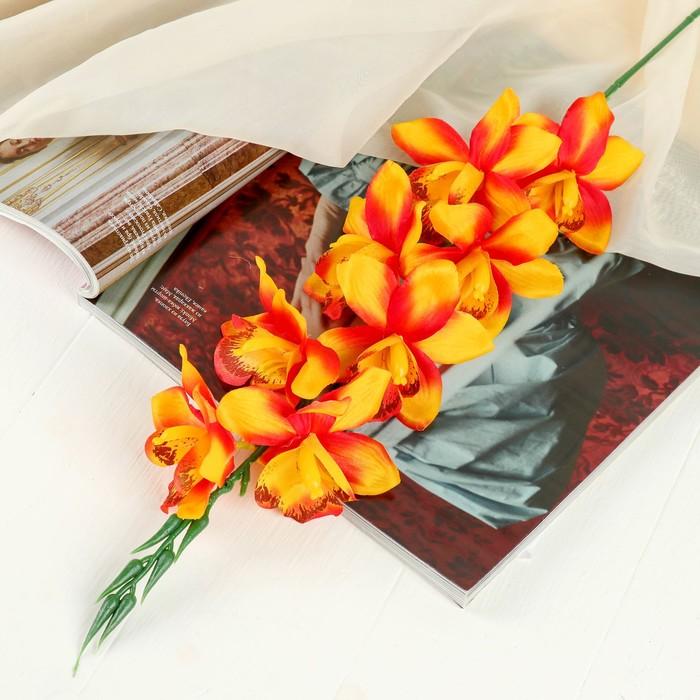 """Цветы искусственные """"Камбрия"""" 9*71 см, оранжевый"""