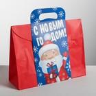 Пакет подарочный «С Новым годом, друзья!», 30 × 23 × 10 см