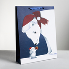 Пакет ламинированный вертикальный «Новогоднее чудо», L 31 × 40 × 9 см
