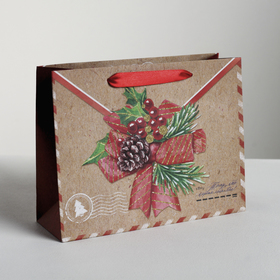 """Package horizontal craftsy """"to whom of roads"""", 23 x 18 x 8 cm"""