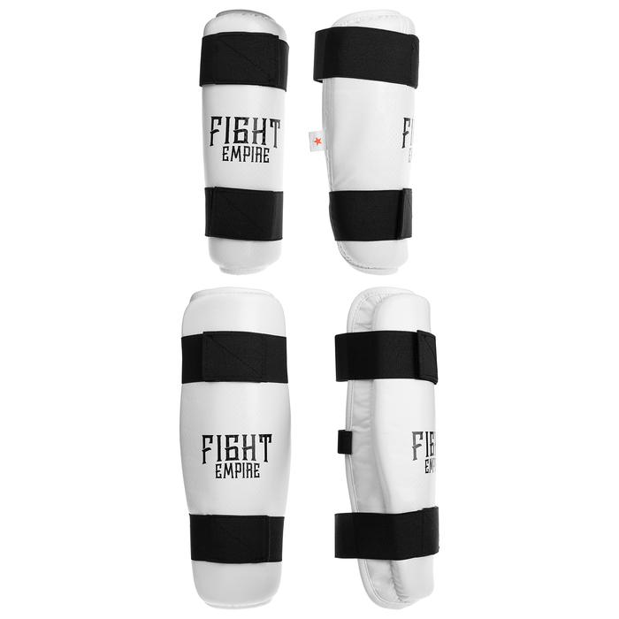 Защита для тхэквондо (голень+локоть) FIGHT EMPIRE, размер M - фото 727849