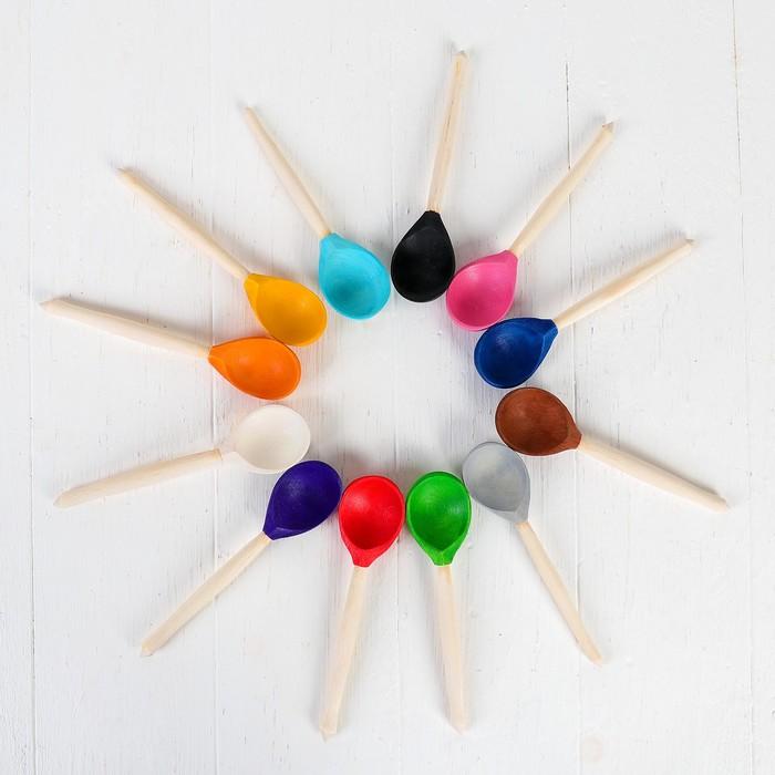Набор «Цветные ложки» набор 12 шт.
