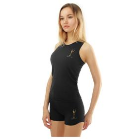 Майка-борцовка гимнастическая Winner Gold, размер 32