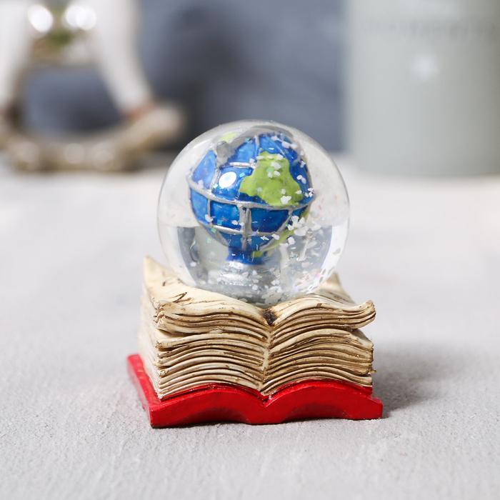 Снежный шар «Глобус», 6х5,2см - фото 798265529