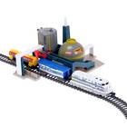 Железная дорога «Нефтяной завод», работает от батареек - фото 105643431