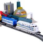 Железная дорога «Нефтяной завод», работает от батареек - фото 105643432